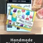 Handmade Birthday Cards That Are Yummy
