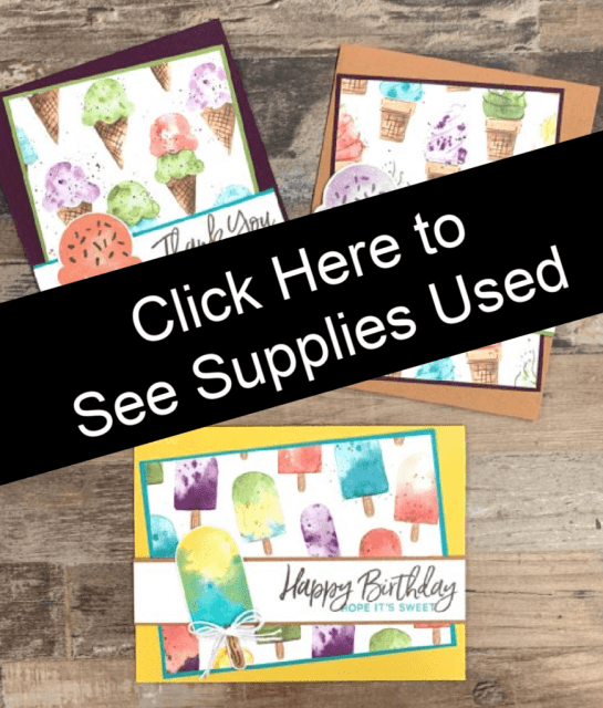 Simple card design ideas start with these supplies.
