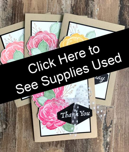 Card Making Supply List Here