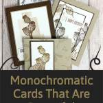 Monochromatic Cards That Are Beautiful