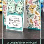 A Delightful Fun Fold Card That's Actually Simple to Make