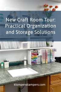 New Craft Room Tour: Practical Organization and Storage Solutions