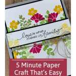 5 Minute Paper Craft That's Easy and Beautiful