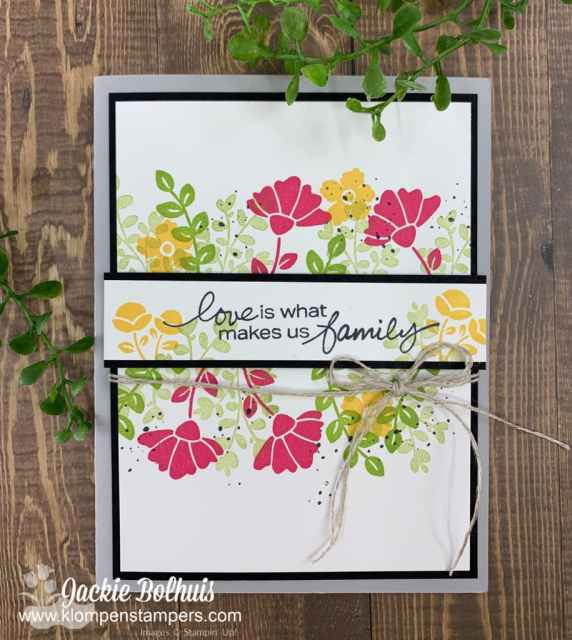 Simple stamping makes easy cards with just a little cardstock, ink, and stamps.