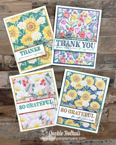 How to Send an Ornate Thanks Sent With a Sensational Handmade Card