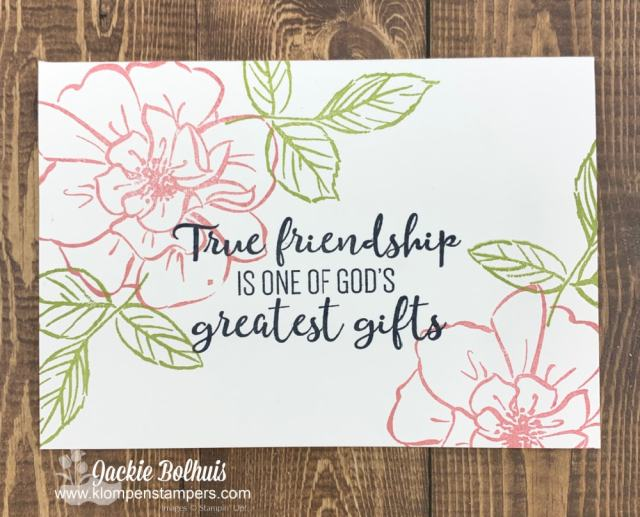 Simple ideas for cards can start with the SIP method (stamps, ink & paper)