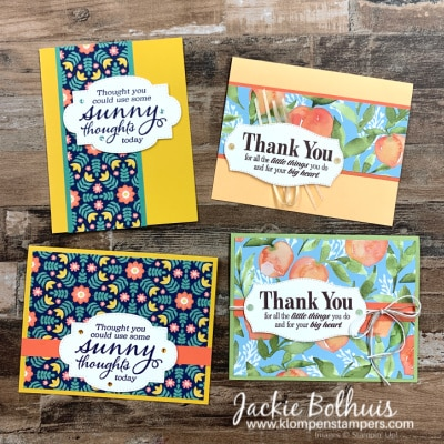 How to Make Fabulous Quick Cards | A Card Layout You'll Use Lots