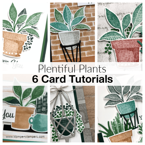 Make a bunch of thank you cards! This 6 card tutorial is now available.