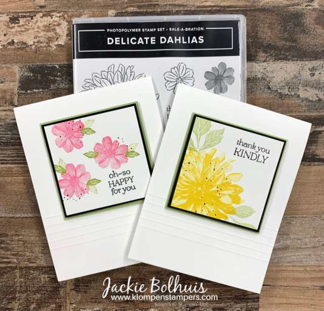 Clean-and-simple-cards-are-given-beautiful-details-with-scored-lines-on-white-cardstock