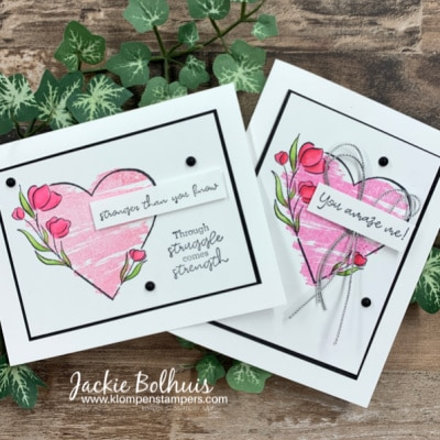 Words of Encouragement Cards: How Your 'Strong of Heart' Cards Help