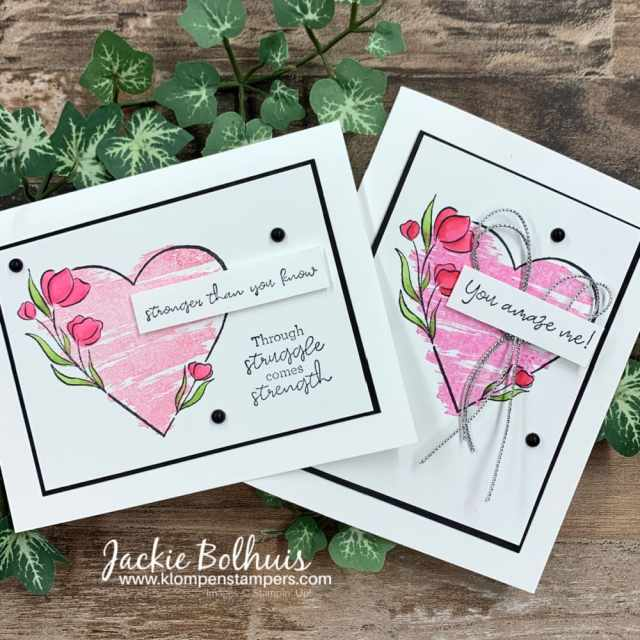 Words-of-encouragement-cards-made-with-Strong-of-heart-Stampin-Up!