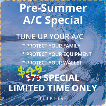 Klondike Air $49 Pre-Summer Tune-Up Special