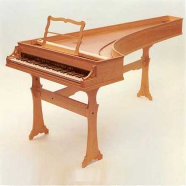 1) Italiaans Klavecimbel. GG-g''', 2x8'
