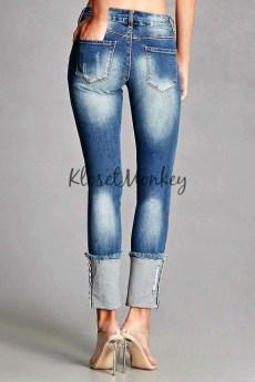 cuffed jeans 1
