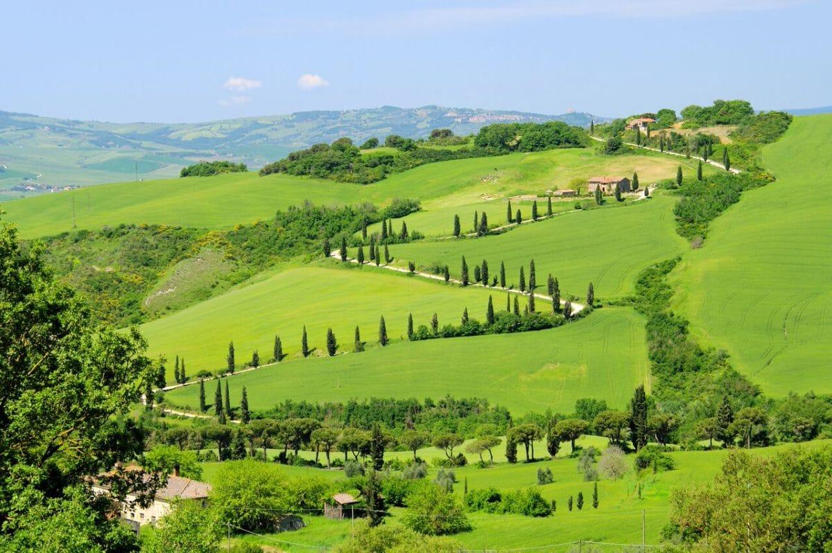 Benediktinerkloster Monte Oliveto, Toskana