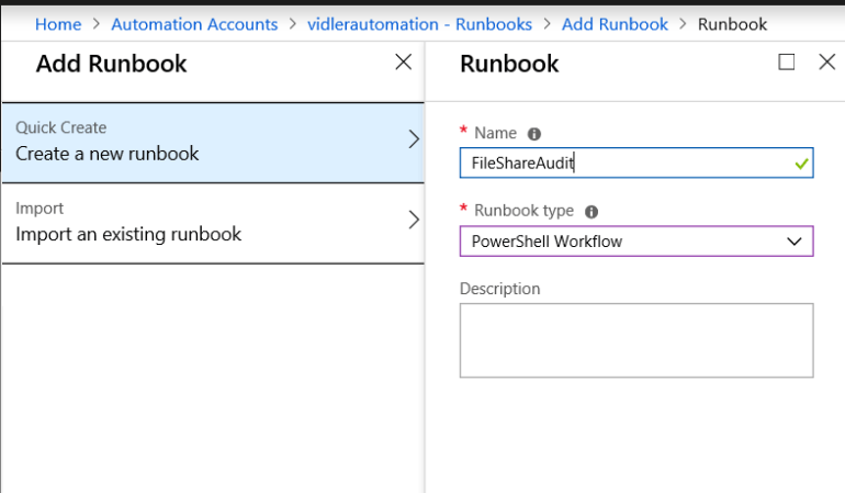 Azure Automation MS Flow Hybrid Workers SharePoint List upload CSV