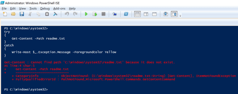 Effective Error Handling in PowerShell Scripting - Kloud Blog