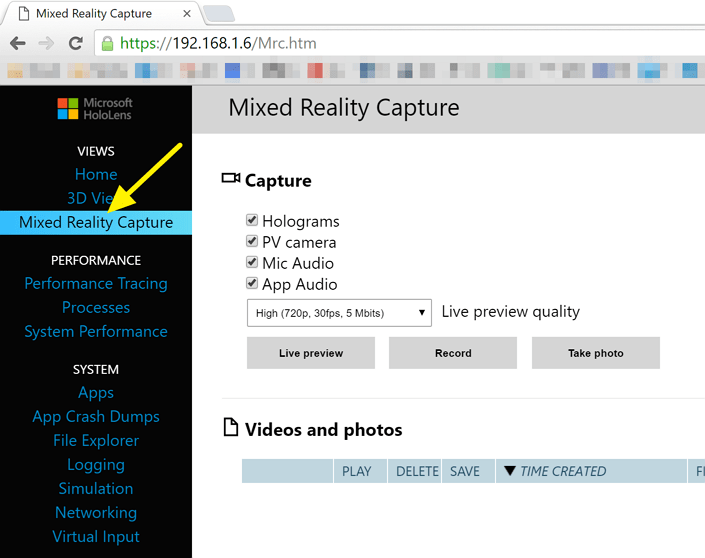Streaming HoloLens Video to Your Web Browser - Kloud Blog
