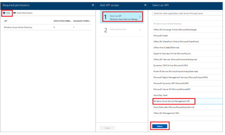 Back up API Management Service to blob storages by calling