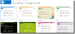 SharePoint Online Themes 3