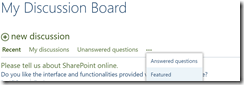 SharePoint Online Discussion Board 10