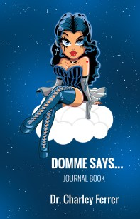 Domme says... journal book