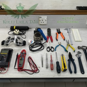 Multimeter, Clamp Meter, Tools etc.