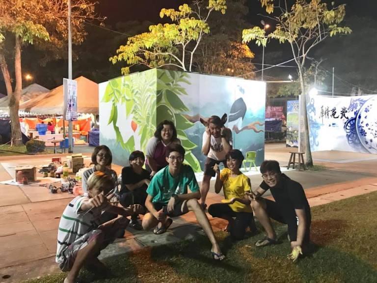 KLT Sibu street art festival 7