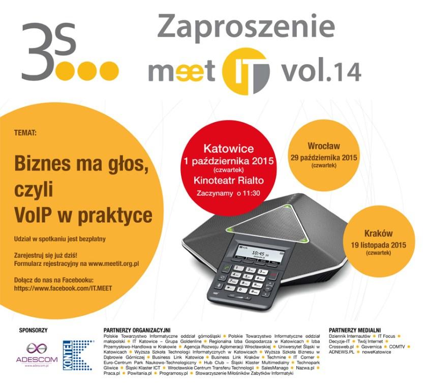 Zaproszenie na Meet IT