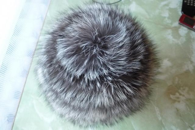 Связанная из чернобурки шапка (Мастер-класс)