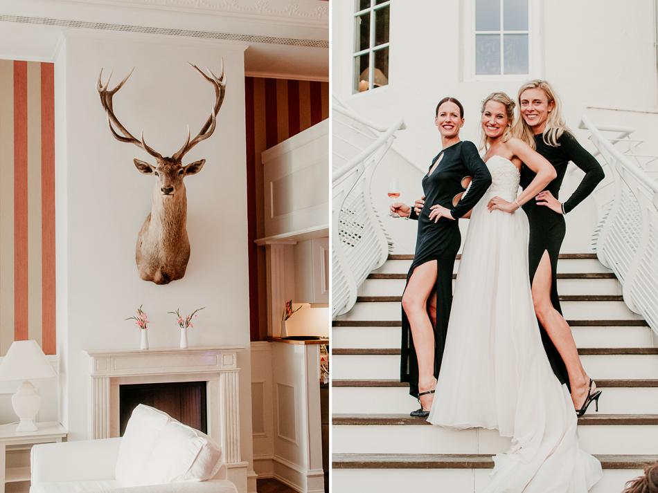 Hochzeitsfotografie im Schloss Glücksburg Strandhotel Glücksburg Conni Klueter Fotografie