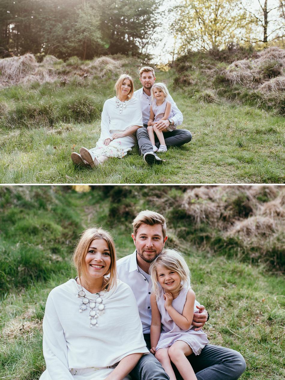 Familienfotos in Leck familienportrait zu dritt