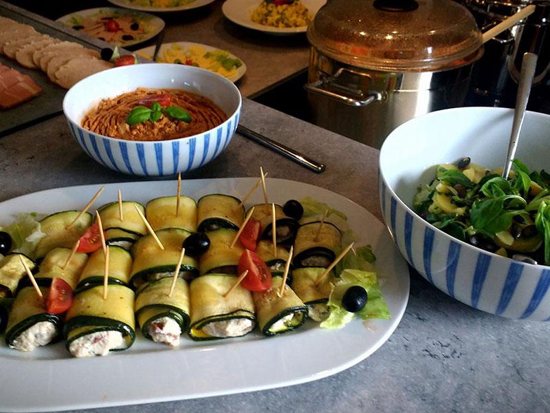 Veganes Catering