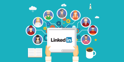 LinkedIn Networking Illustration via brosgroup.es