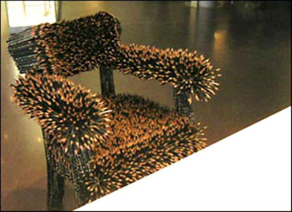 Chairs Made From Weird Materials 41 Photos Klyker Com