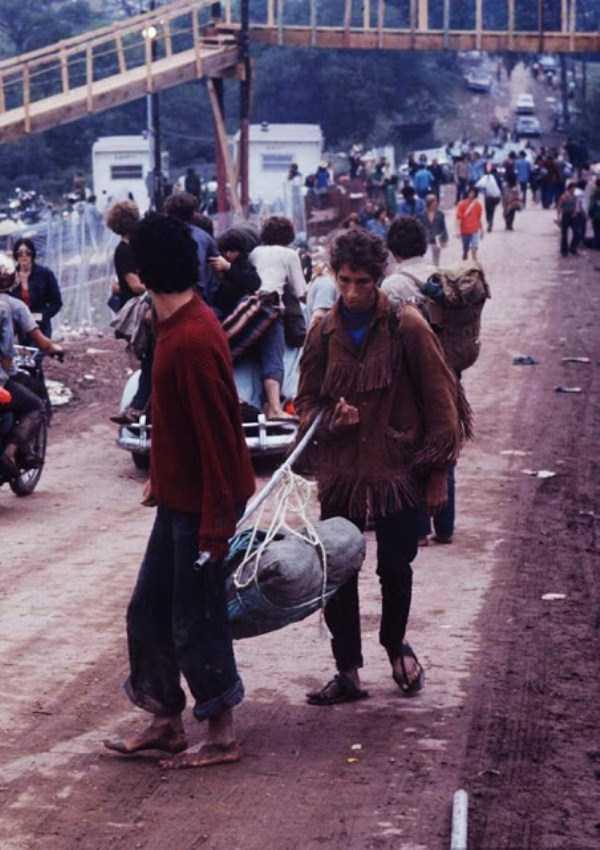 Interesting Photos From The Legendary Woodstock Festival