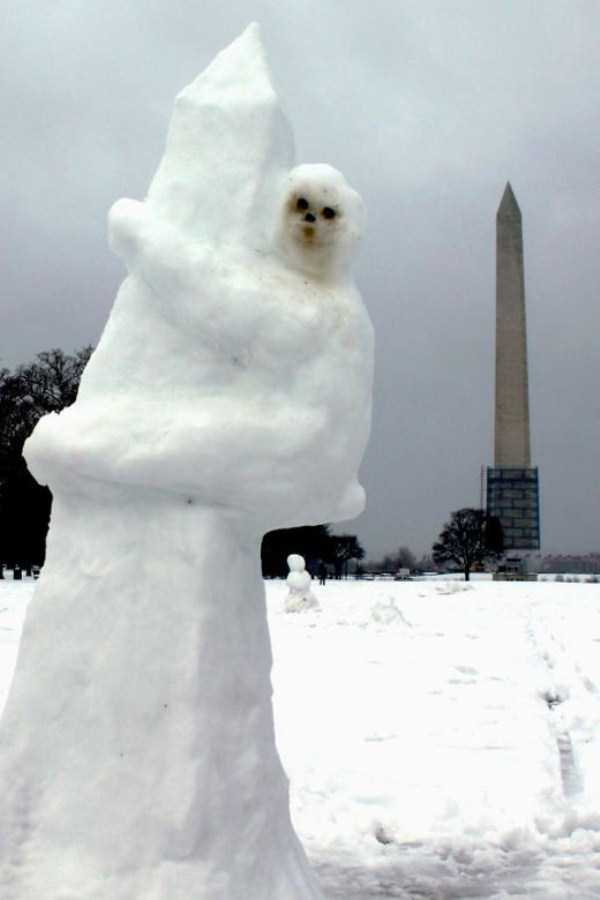 Snow Sculptures That Are Simply Awesome 31 Photos