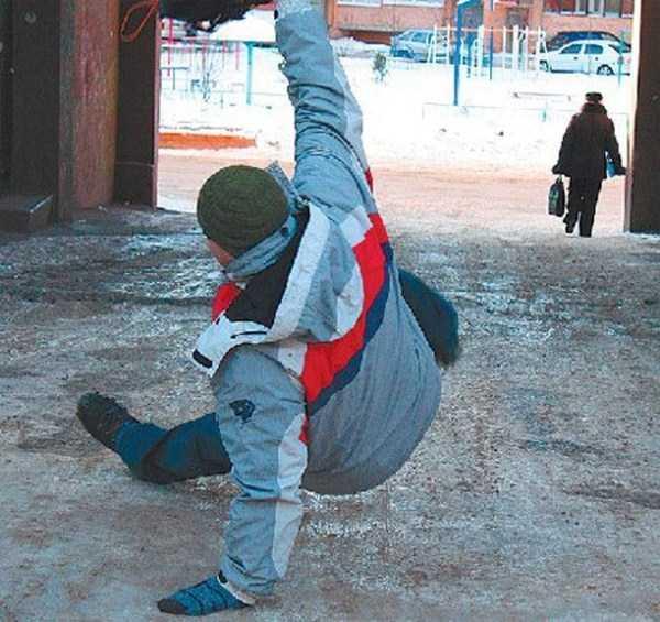 Ice People Falling