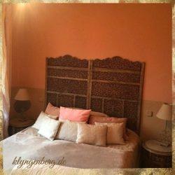 Schlafzimmer Apricot Seminarhaus Mecklenburg 2 - Das Seminarhaus Klyngenberg in Bildern