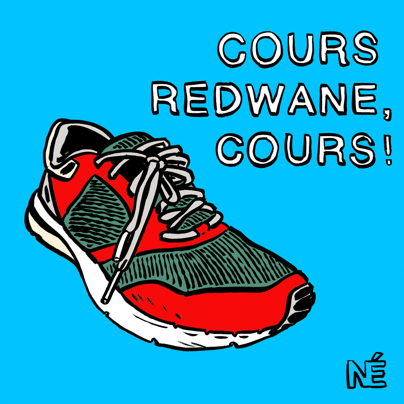 cours redwane cours - KM 42 Podcast running par Bertrand Soulier