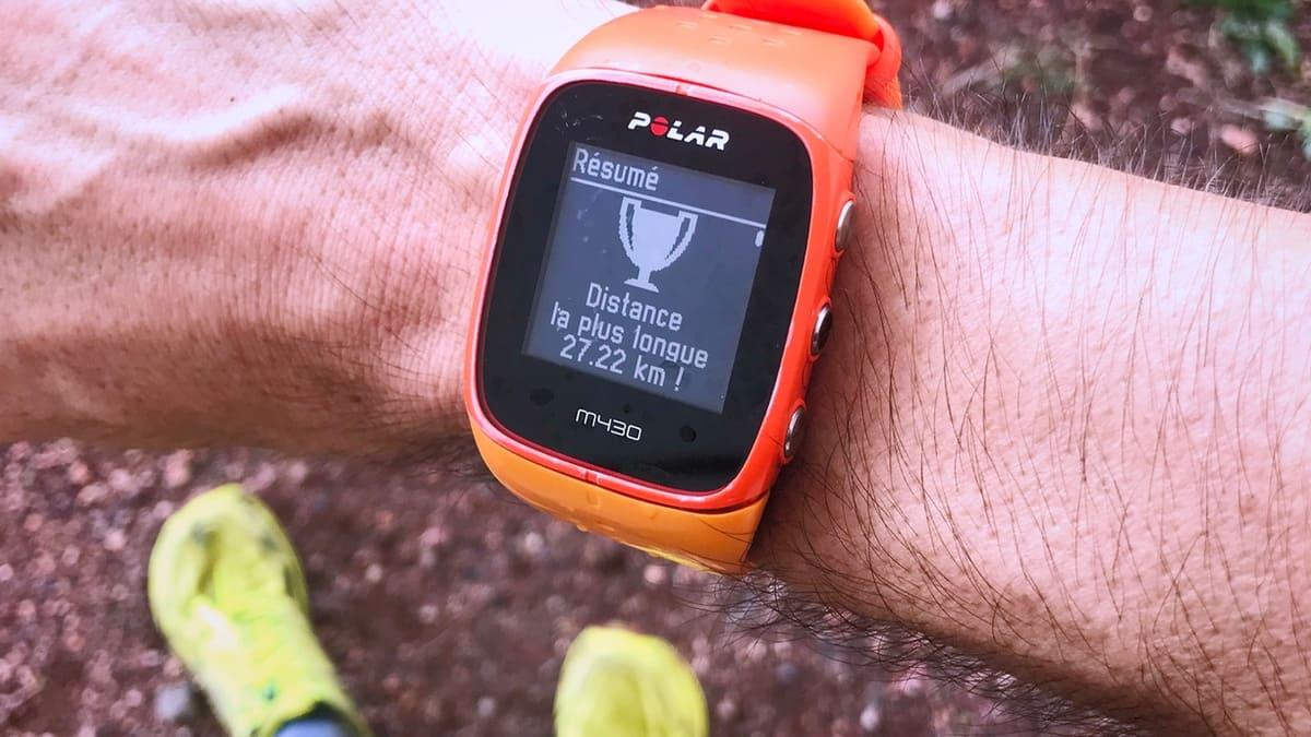 choisir montre running polar - KM 42 Podcast running par Bertrand Soulier