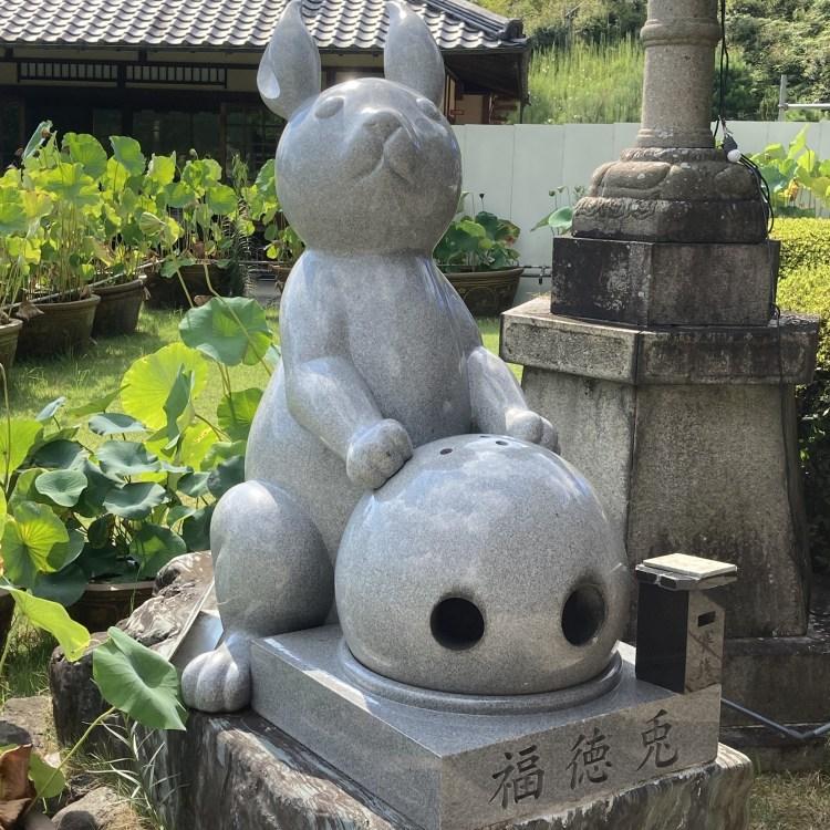 三室戸寺 福徳兎