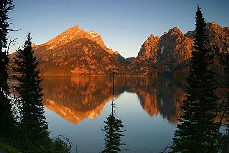 mountain at dawn