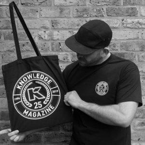 Kmag 25th anniversary tote bag