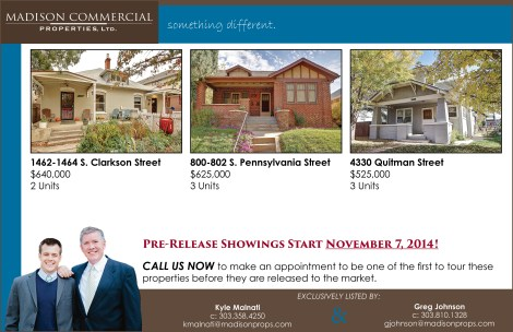 Quitman, S. Pennsylvania, and S. Clarkson - Just Listed 11.4.14 (for blog post)