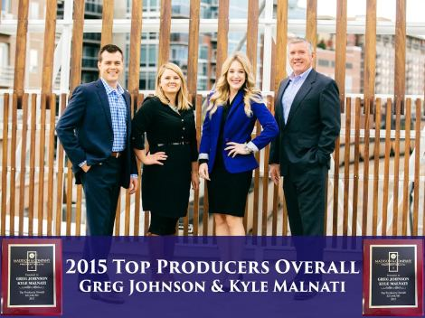 Team Photo for Top Producers Overall 12.30.15