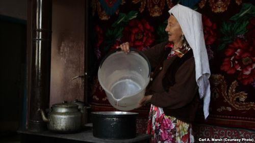 Түркиялык кыргыз аял