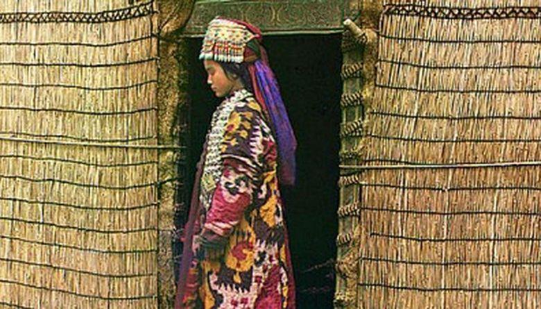 Кыргыз аялы. 1905-ж