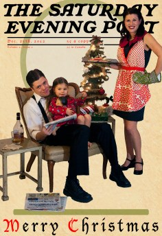 Christmas card, Photo by Autumn and Melinda Photography