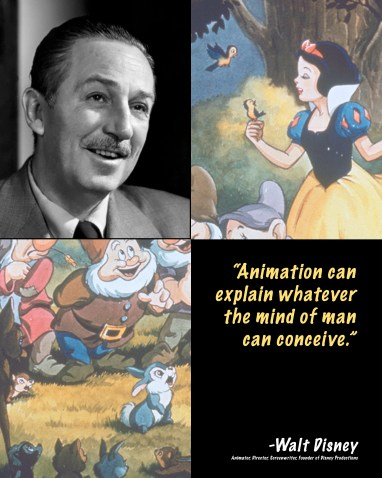"Walt Disney ""tip-in"" Poster"